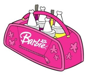 Barbie Paints