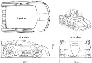 Batman Car Specs