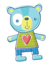 Teddy-Bear-Heart-Blue-8x10