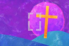 Easter Cross Sun