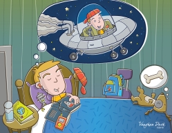 Dreaming of space flight
