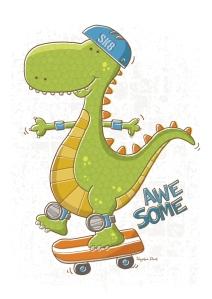 Dinosaur Skater
