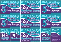 Coupons for Dry Cleaner