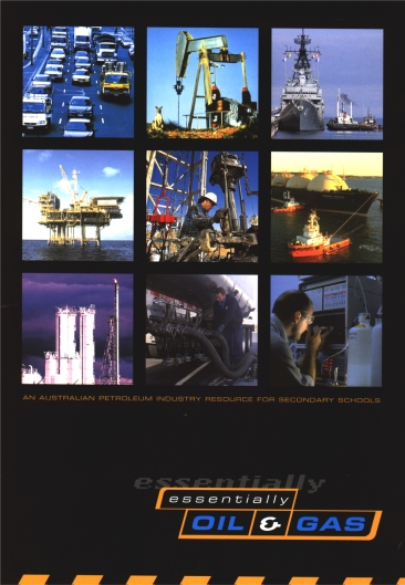 Booklet on Oil and Gas Cover