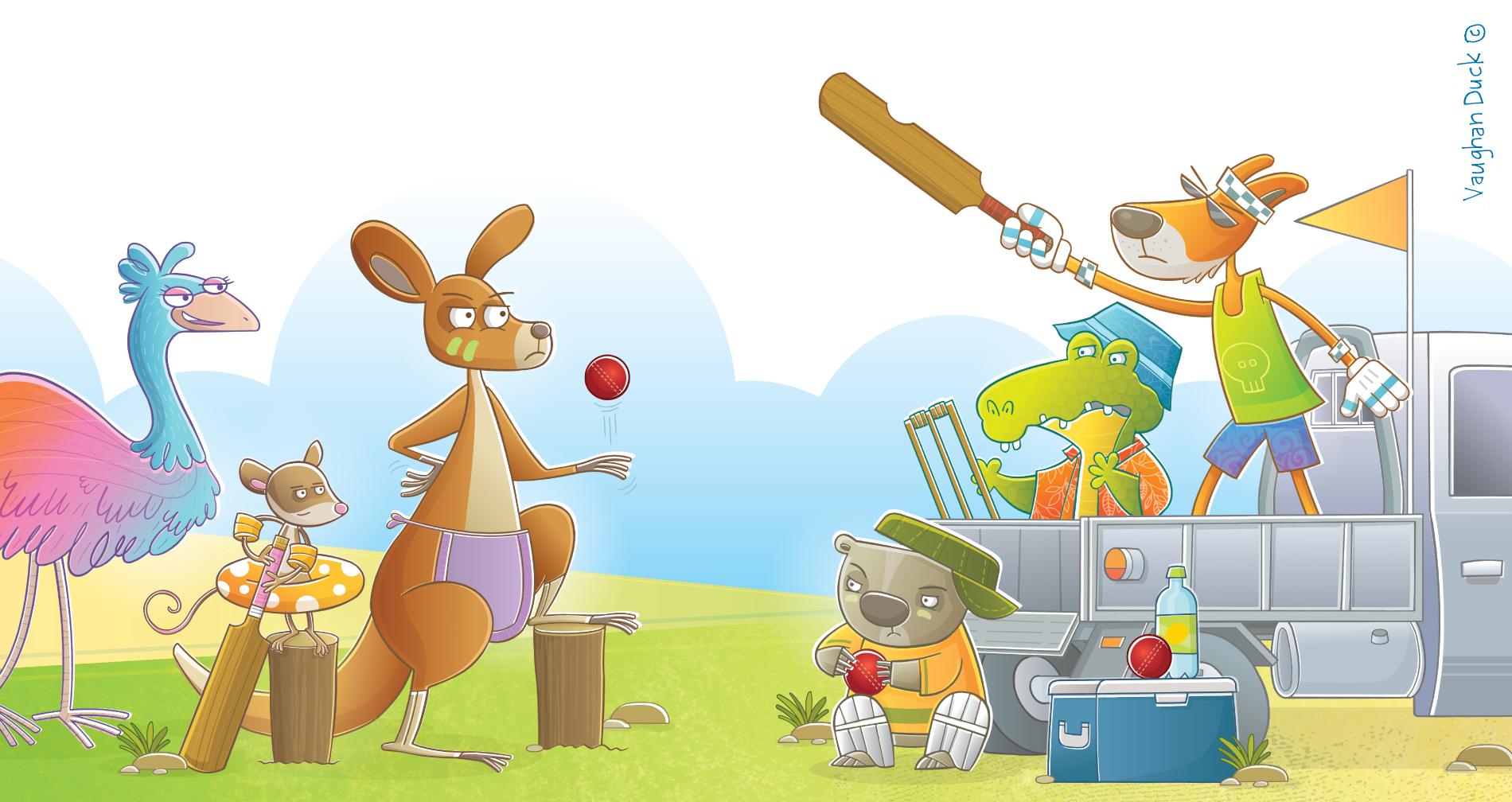 Big Beach BBQ Cricket Challenge