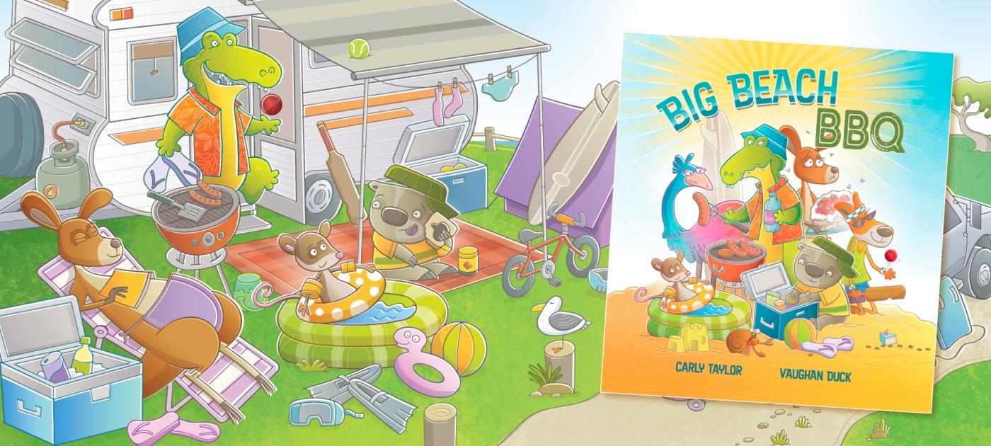 Big Beach BBQ Cover Image