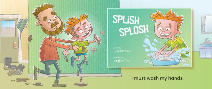 Splish Splosh illustrated by Vaughan Duck