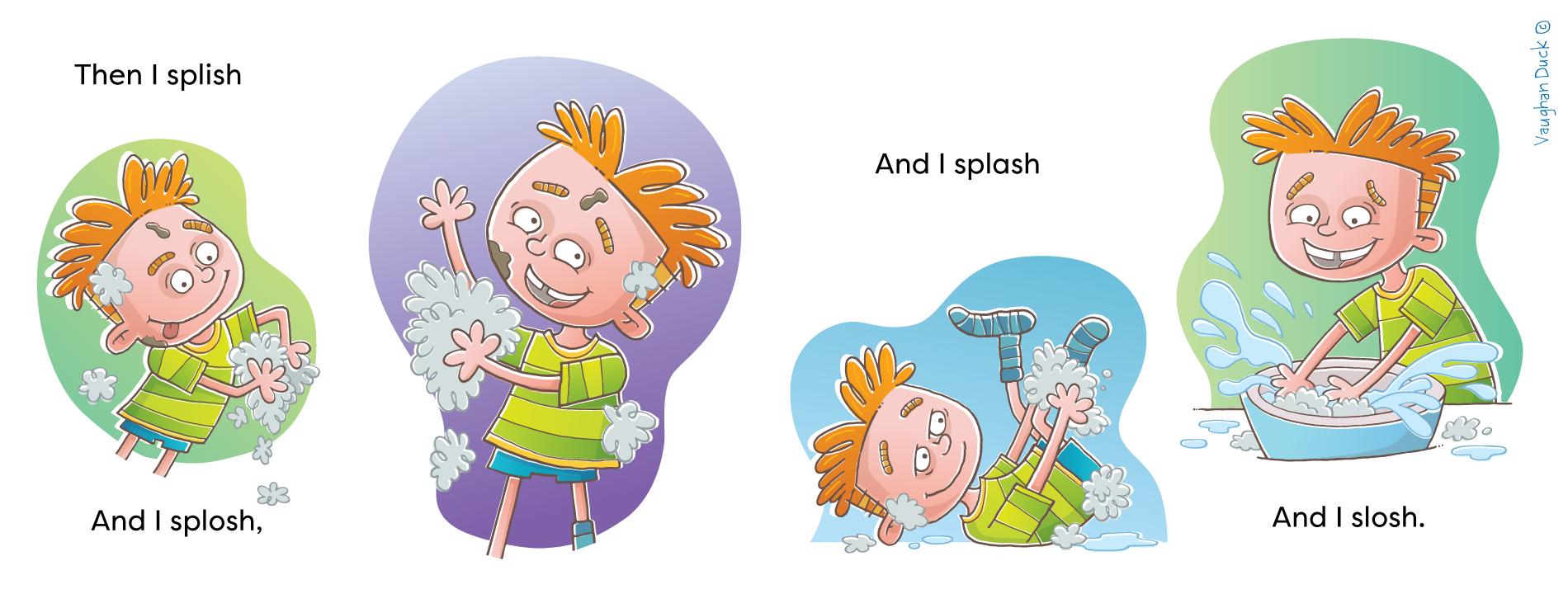 Splish Splosh Washing