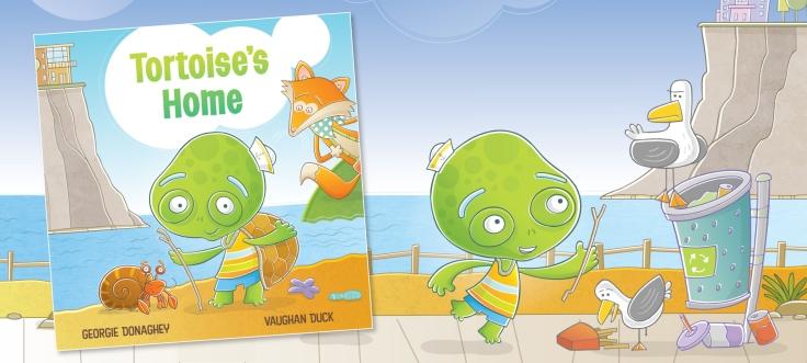 Tortoise's Home written by Georgie Donaghey